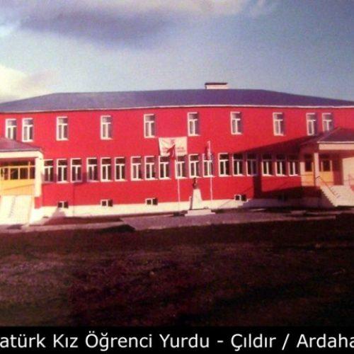 TYSD Atatürk Kız Öğrenci Yurdu Çıldır / Ardahan