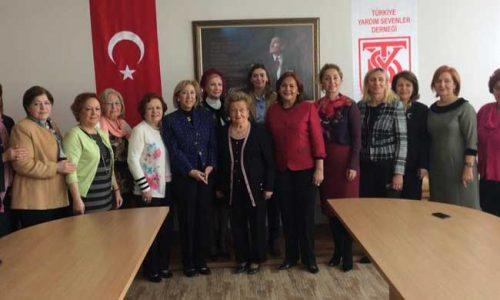 TYSD Genel Merkezinde Misafirlerimiz