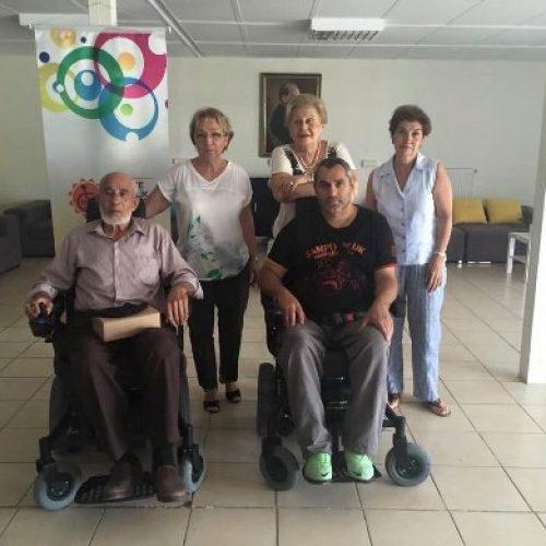 TYSD Bakırköy Şubemizden Akülü Sandalye