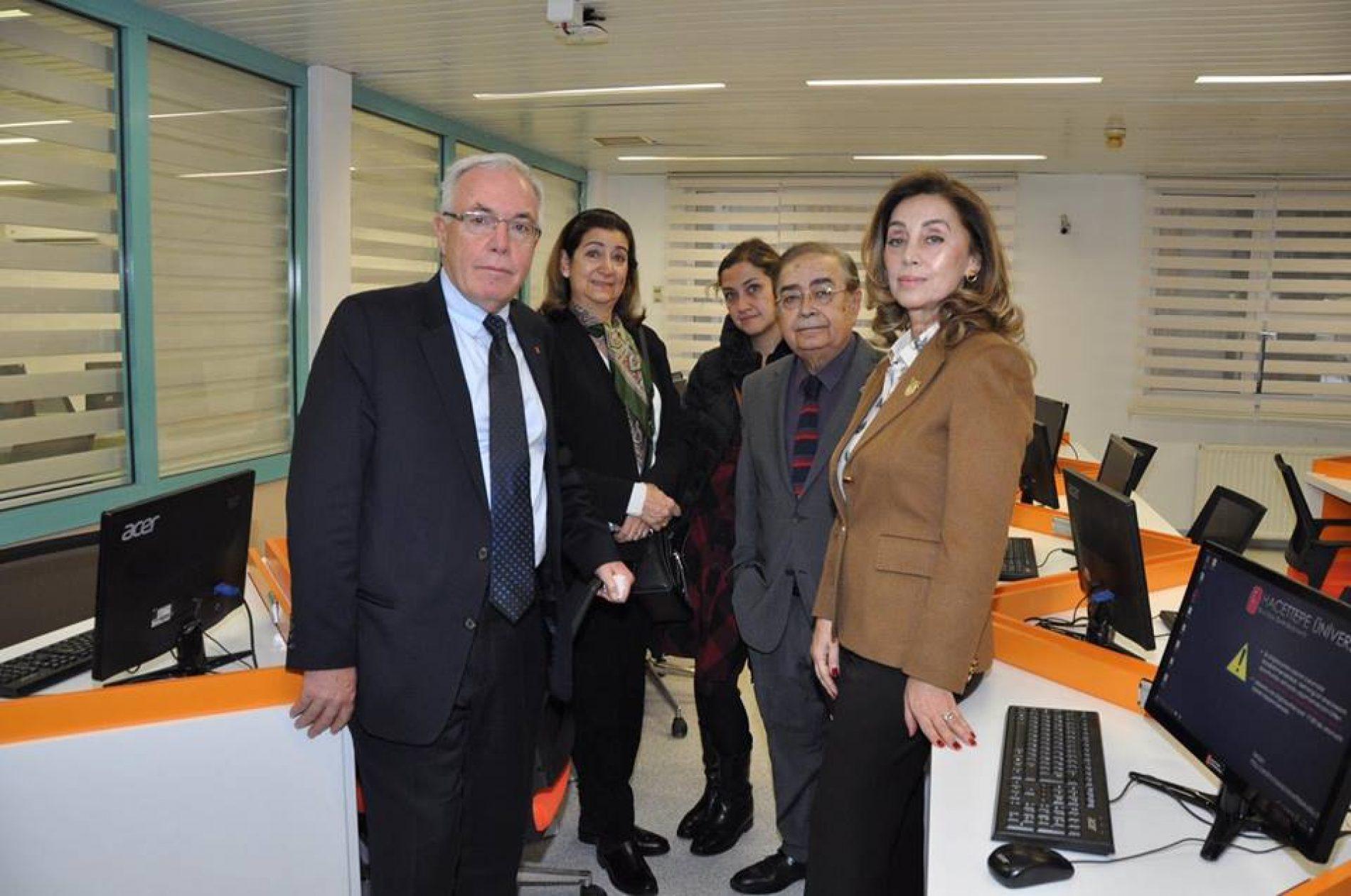 TYSD Cihan Eren Anısına H.Ü Tıp Fakültesinde Yaptırılan E-Sınav Merkezinin Açılışı