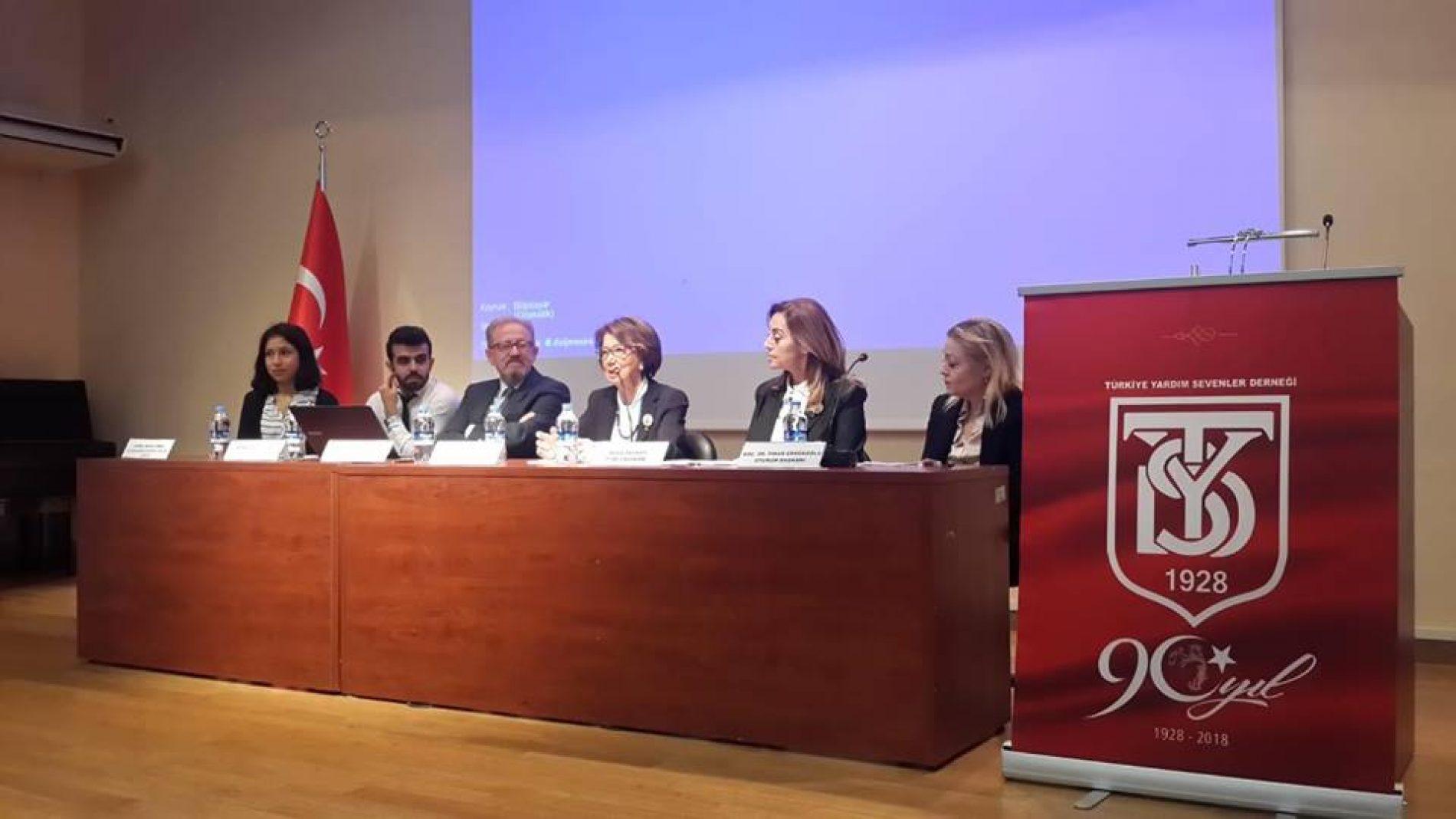 'Cumhuriyet'in Kuruluşundan Bugüne TYSD  ve Gençliğin Gönüllülüğe Bakışı' Konulu Panel