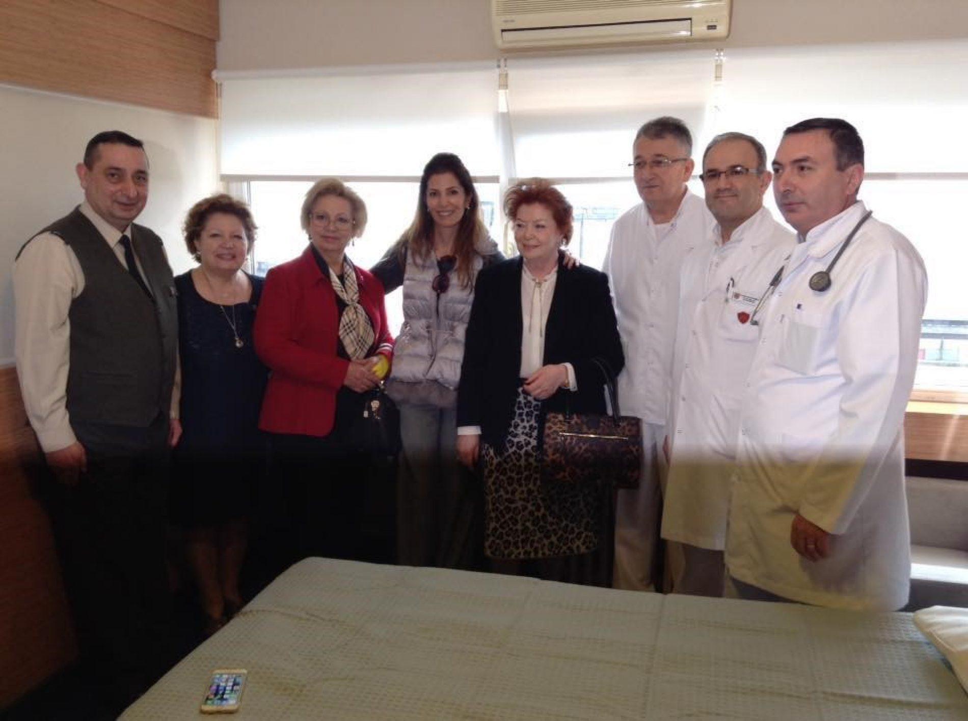 TYSD Beyoğlu Şubesi Hasta Odası