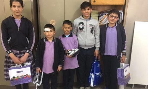 TYSD Beyoğlu Şubemizin Divriği Cumhuriyet Ortaokuluna Kitap ve Giysi Yardımı