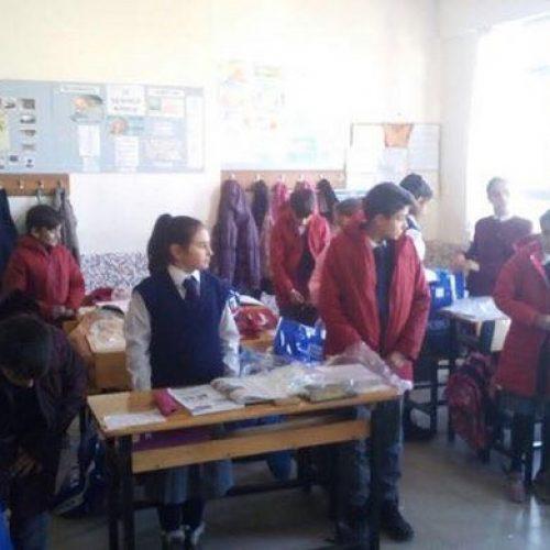 TYSD Bakırköy Şubemizden Konya Çeltik Köyü İlkokulu Ziyareti