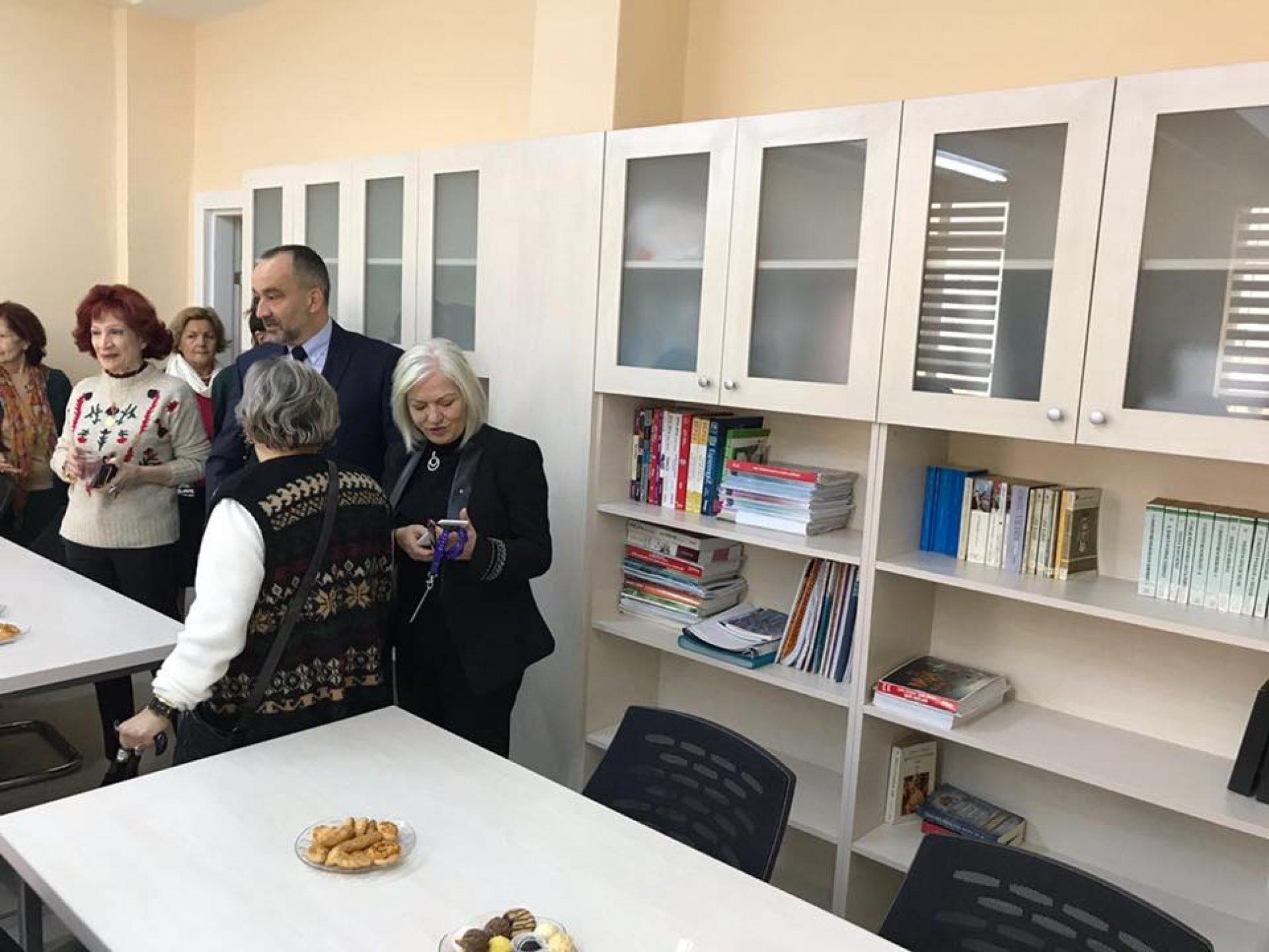 TYSD Kız Öğrenci Yurdu Kütüphanesi Yenilenmiştir