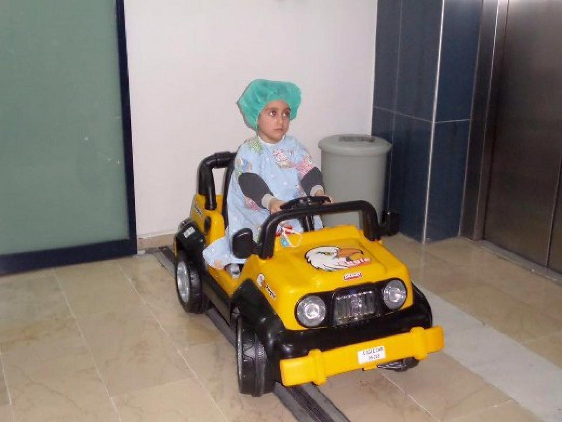 TYSD Kağıthane Şubesi Akülü Araba Bağışı