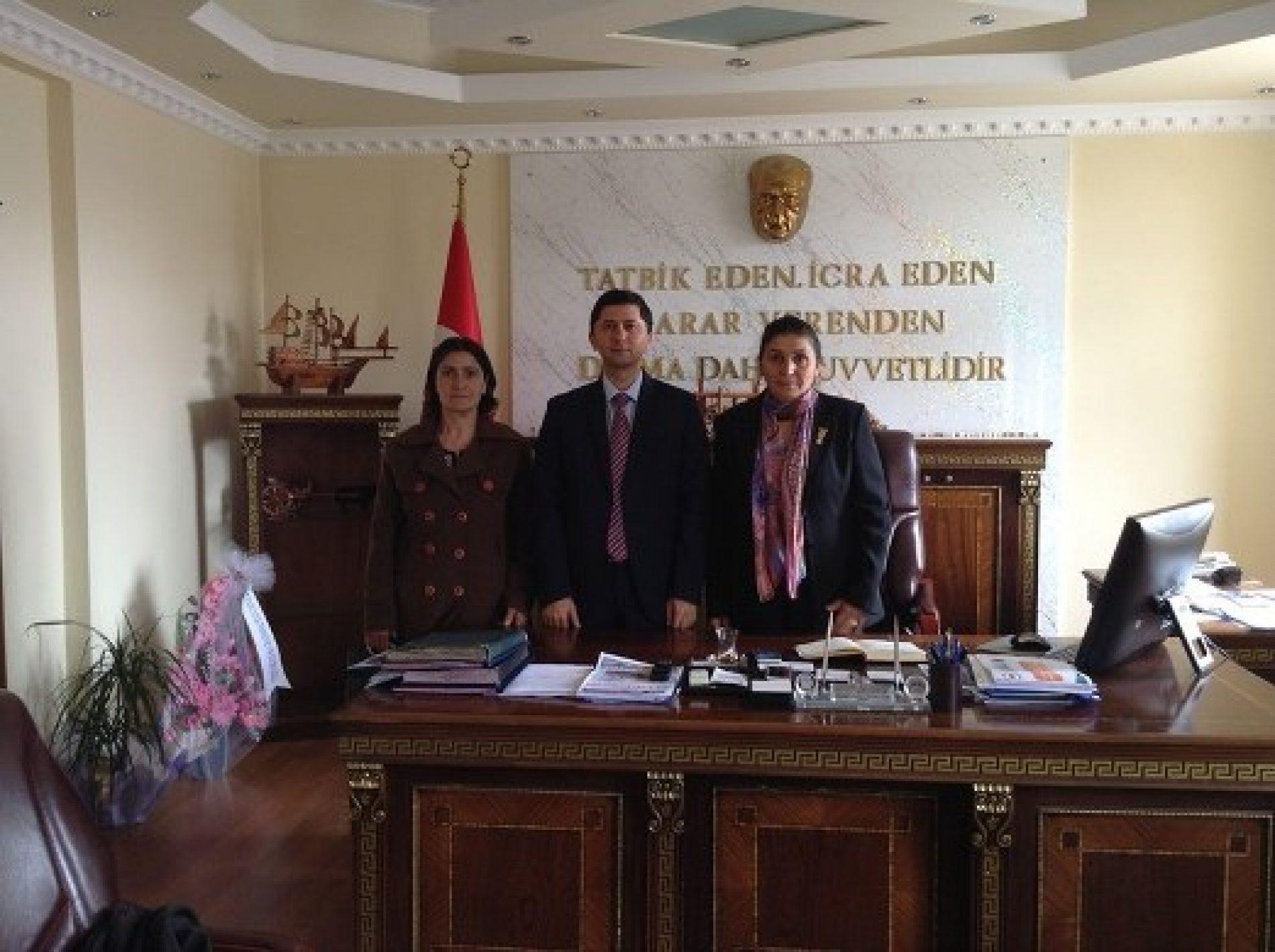 Ardahan Şube Başkanının Ankara Ziyareti