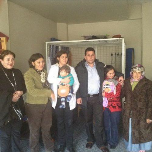 Ardahan'ın Rehabilitasyon Merkezine Yardımı