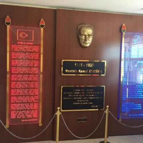 TYSD Didim Şubesinden Atatürk Köşesi