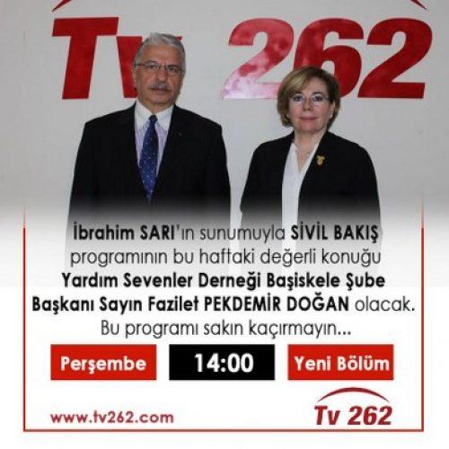 TYSD Başiskele Şube Başkanlarımız TV ve Radyo Programlarının Konuğu