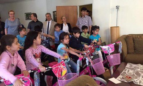 TYSD Kağıthane Şubesi Bisiklet Bağışı