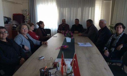 TYSD Aliağa Şubesi'ne Dernek Ziyareti