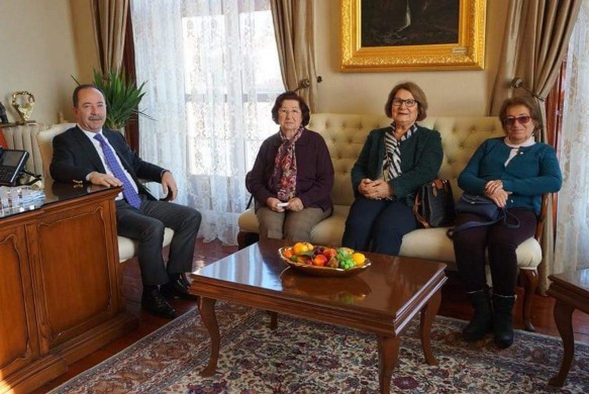 TYSD Edirne Şubemizden Edirne Belediye Başkanına Ziyaret