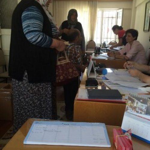 TYSD Eyüp Şubesinden Ramazan Yardımı