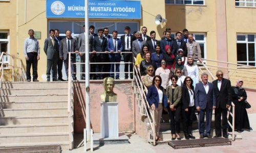 TYSD Eyüp Şubesinden Sivas Koyulhisar'a Eğitim Desteği