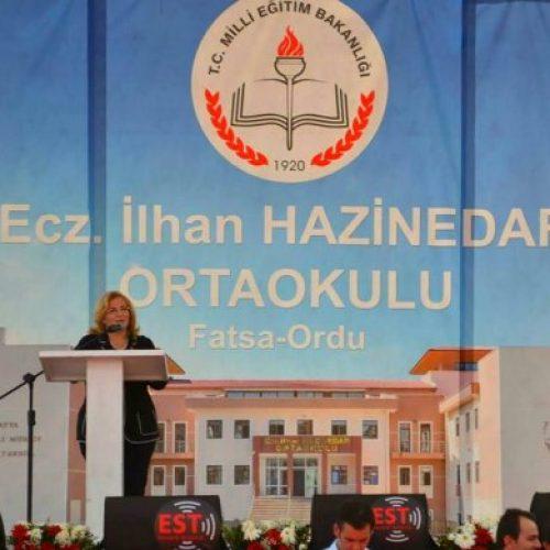 TYSD Fatsa Şubesi Ecz. İlhan Hazinedar Ortaokulu Açılışı