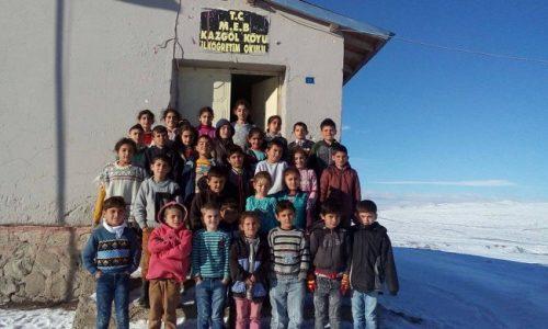 TYSD Kadıköy Şubemizin Kazgöl Köyü İlköğretim Okulu Ziyareti