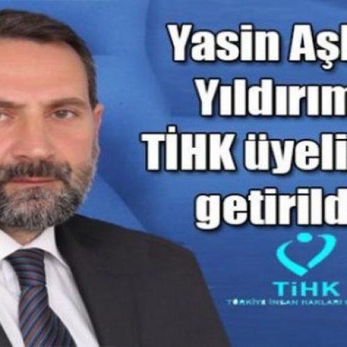 TYSD Kars Şubesi Başkanı Yasin Aşkın Yıldırım TİHK Üyeliğine Getirildi