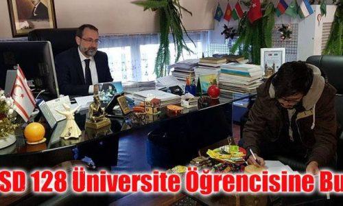 128 Üniversite Öğrencisine Atatürk Eğitim Bursu