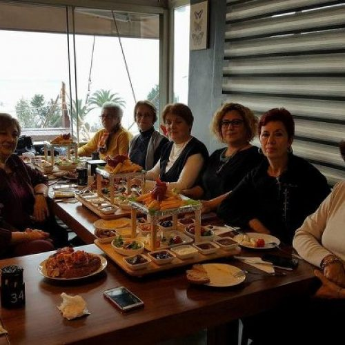 TYSD Karadeniz Ereğli Şubemizin Yeni Yıl Yemeği