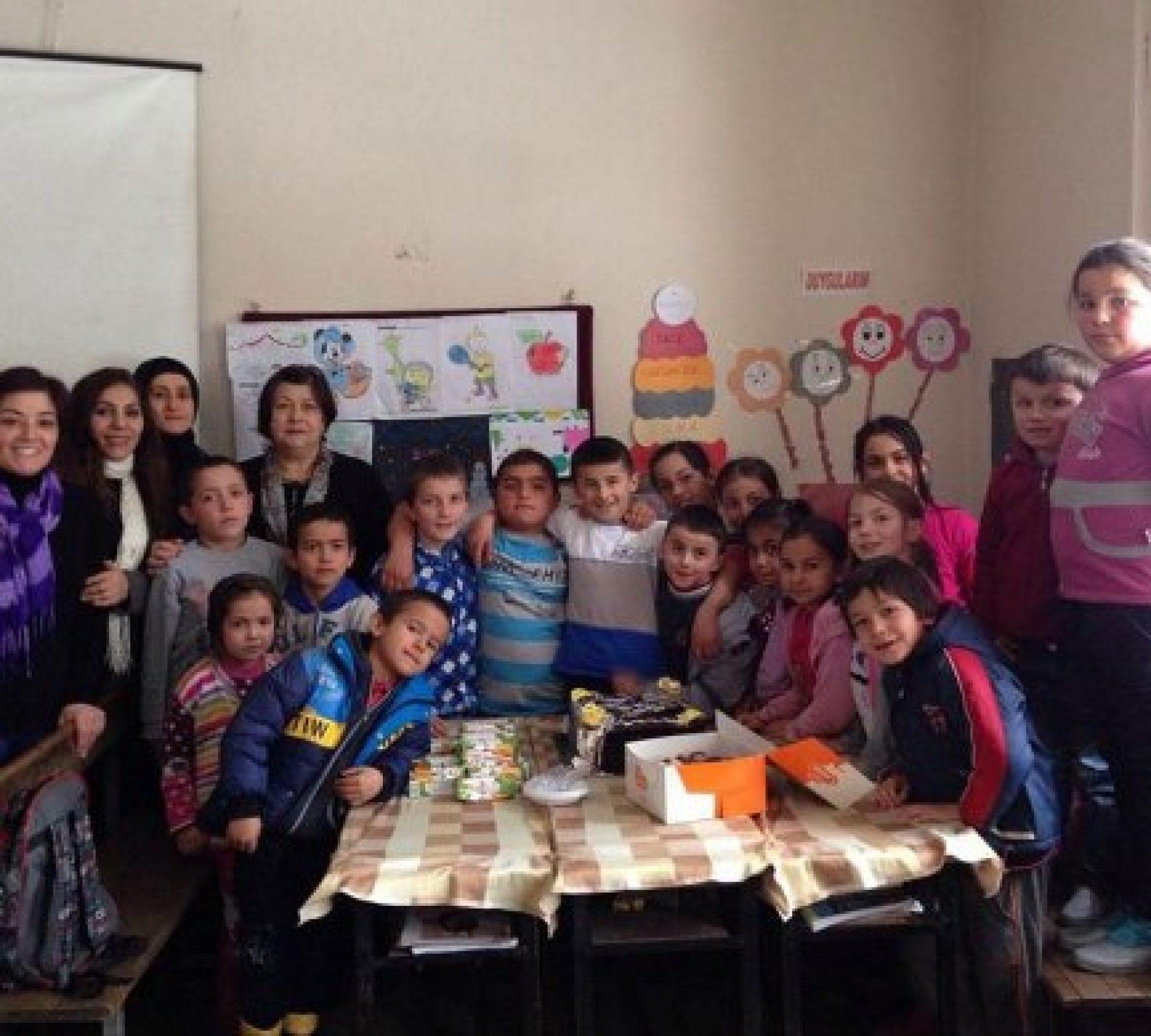 Espiye TYSD Şahinyuva Köyü İlköğretim Okulunda