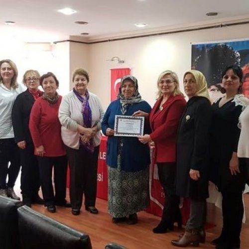 """TYSD Fatsa Şubesinin """"Dünya Kadınlar Günü"""" Etkinliği"""