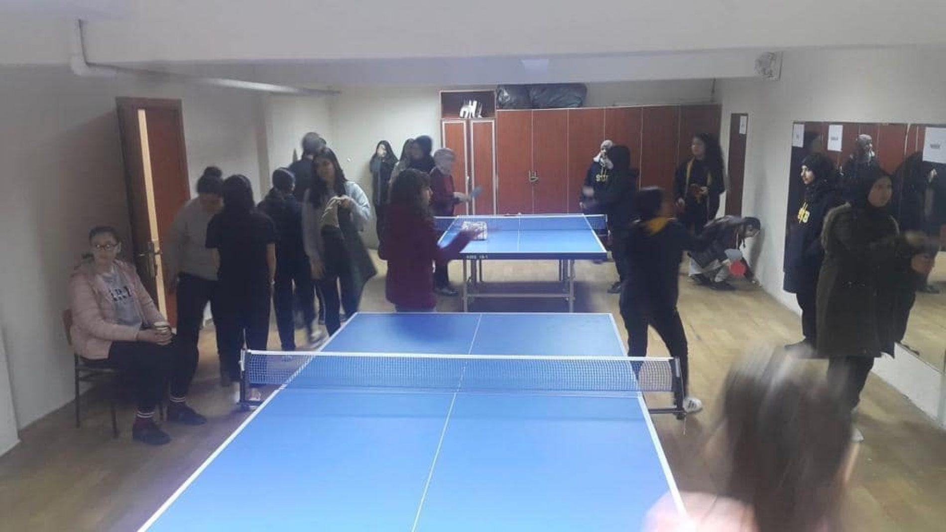 TYSD Kağıthane Şubesinin '19 Okula 19 Masa Tenisi Araç ve Gereçleri' Projesi