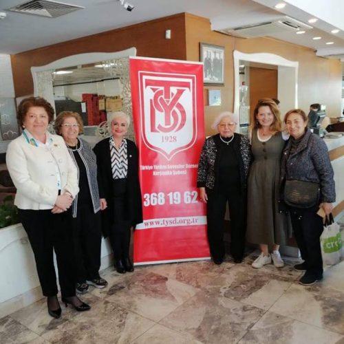 TYSD Karşıyaka Şubesinin Bağış Etkinliği