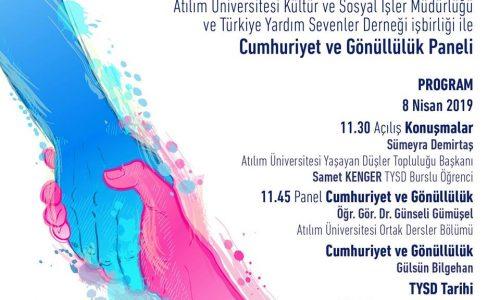 Cumhuriyet ve Gönüllülük Paneli
