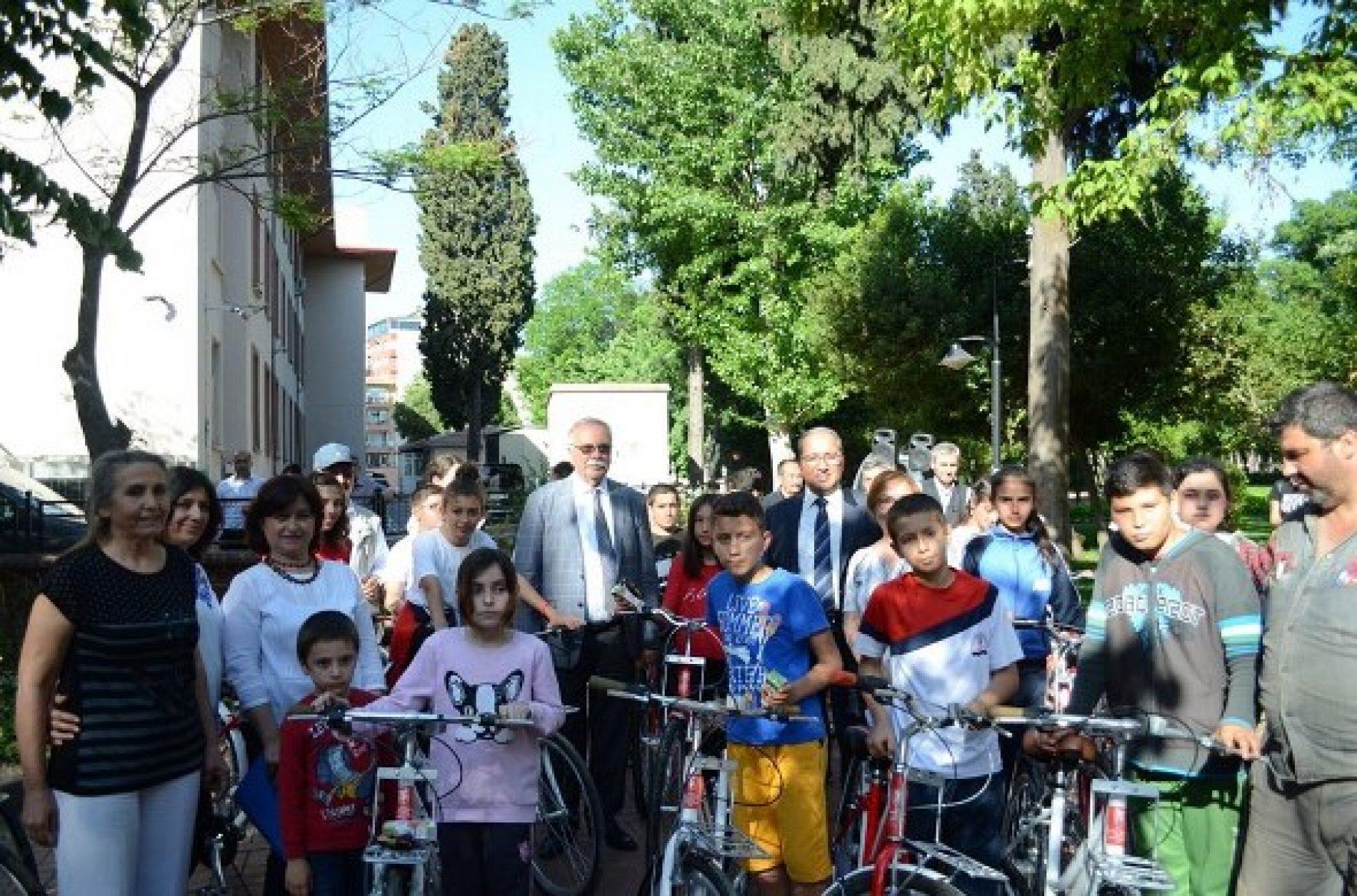 TYSD Çanakkale Şubemizden Bisiklet Bağışı