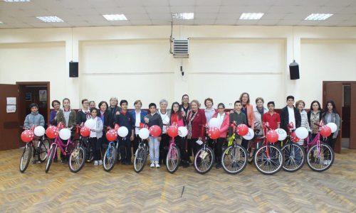 TYSD Lüleburgaz Şubemizden Öğrencilerimize Bisiklet Amağanı