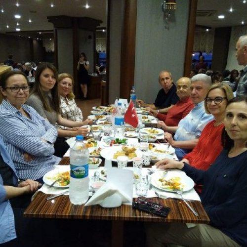 TYSD Çanakkale Şubemizin Geleneksel İftar Yemeği