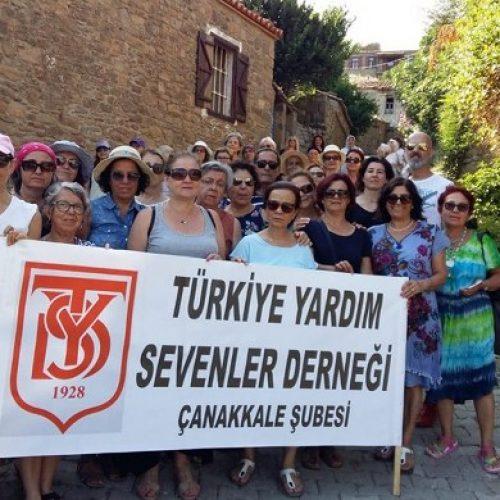 TYSD Çanakkale Şubemizin Gökçeada Gezisi