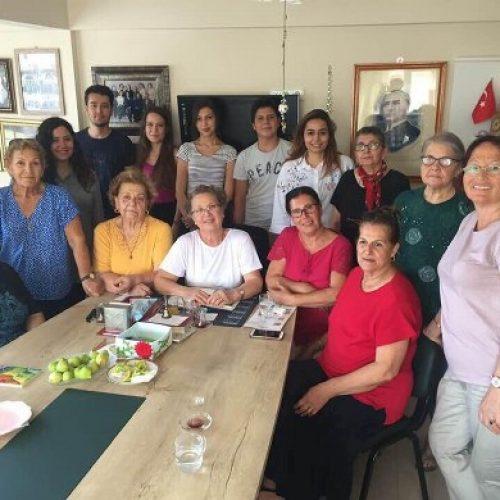 TYSD Aliağa Şubemize Atatürk Eğitim Burslu Öğrencilerimizden Ziyaret