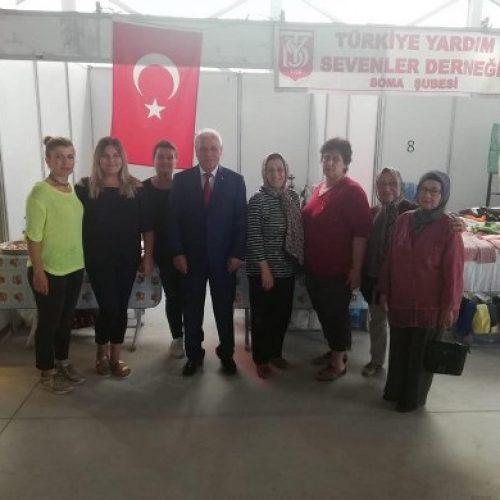 TYSD Soma Şubemiz Kara Elmas Festivalinde