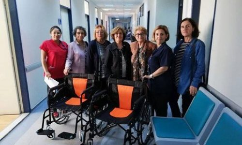 TYSD Bornova Şubemizden Hasta Sandalyesi Bağışı…