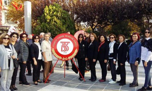 TYSD Çanakkale Şubemiz Atamızı Sevgi, Saygı ve Minnetle Andı