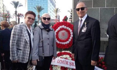 TYSD İzmir Şubemiz Atamızı Sevgi, Saygı ve Minnetle Andı