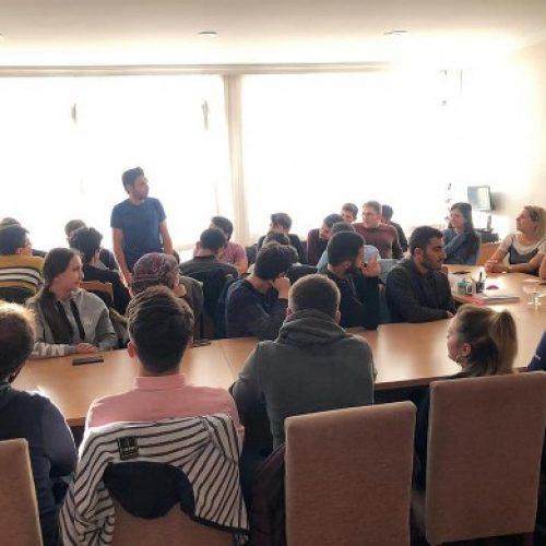 TYSD Genel Merkezin Geleneksel Öğrenci Tanışma Yemeği