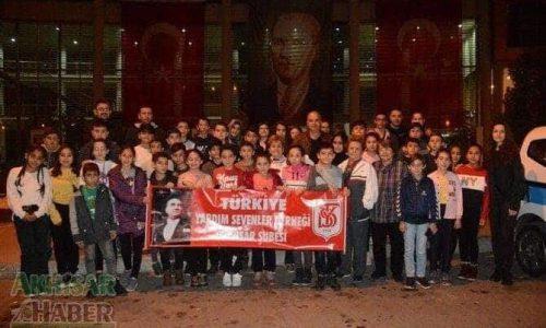 TYSD Akhisar Şubemizden 10 Kasım Etkinliği