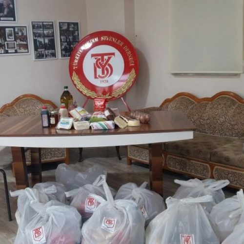 TYSD Çanakkale Şubemizin Gıda Yardımı