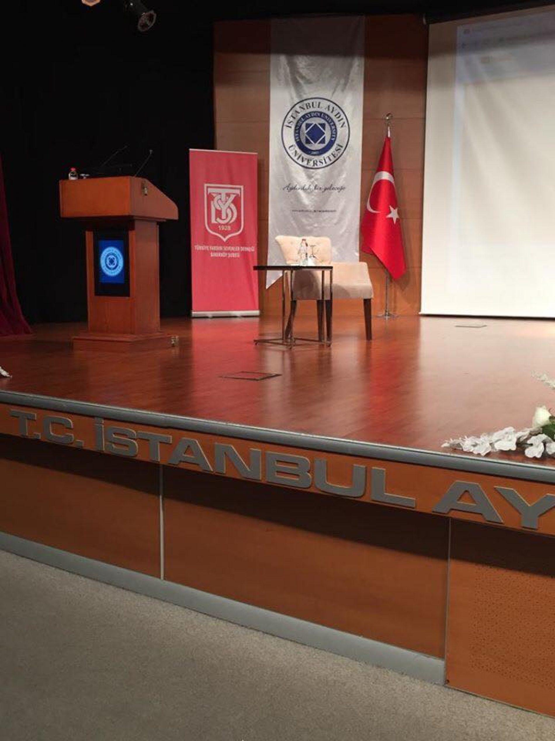 """Aydın Üniversitesi İşbirliğinde Düzenlediğimiz """"5 Aralık Dünya Gönüllüler Günü Paneli"""""""