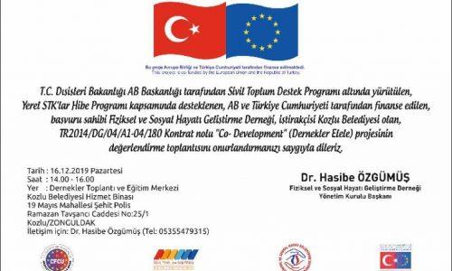 TYSD Zonguldak Şubemizin Sergi Açılışı