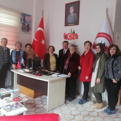 TYSD Konya Meram Şubemizin Şehit Aileleri Derneği Ziyareti