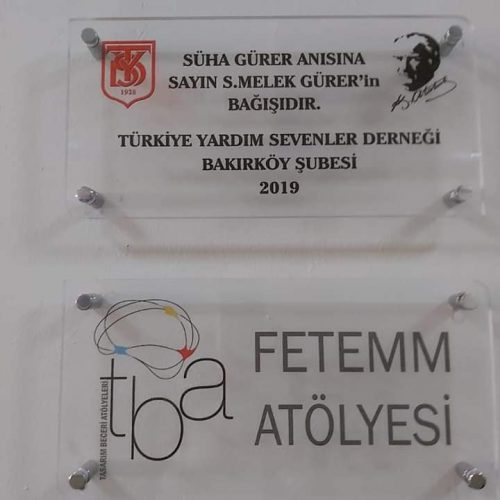 TYSD Bakırköy Şubemizden Proje Sınıfı Açılışı