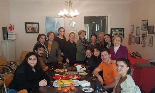 TYSD İstanbul Şubemiz Burslu Öğrencilerimiz ile Birlikte