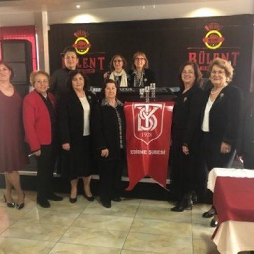 TYSD Edirne Şubemizin 92. Yıl Kutlaması