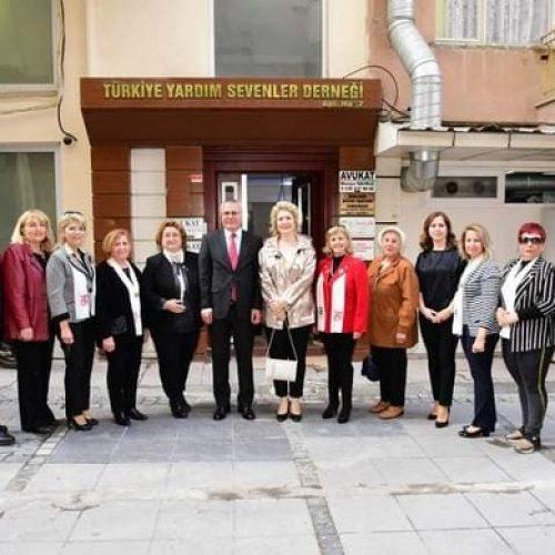 TYSD Manisa Şubemize Valimiz ve Eşinden Anlamlı Ziyaret
