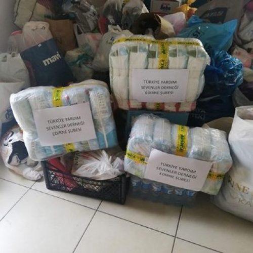 TYSD Edirne Şubemizin Mülteci Çocuklara Yardımı