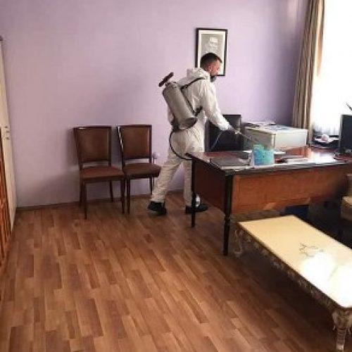 TYSD İzmir Şubemizin Dezenfekte Çalışmaları